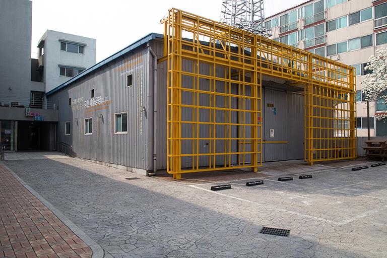 depósito da Seoul Art Space Geumcheon